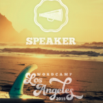This image has an empty alt attribute; its file name is wclax-speaker-badge-250x300-250x300-150x150.png