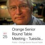 Orange Senior Roundtable